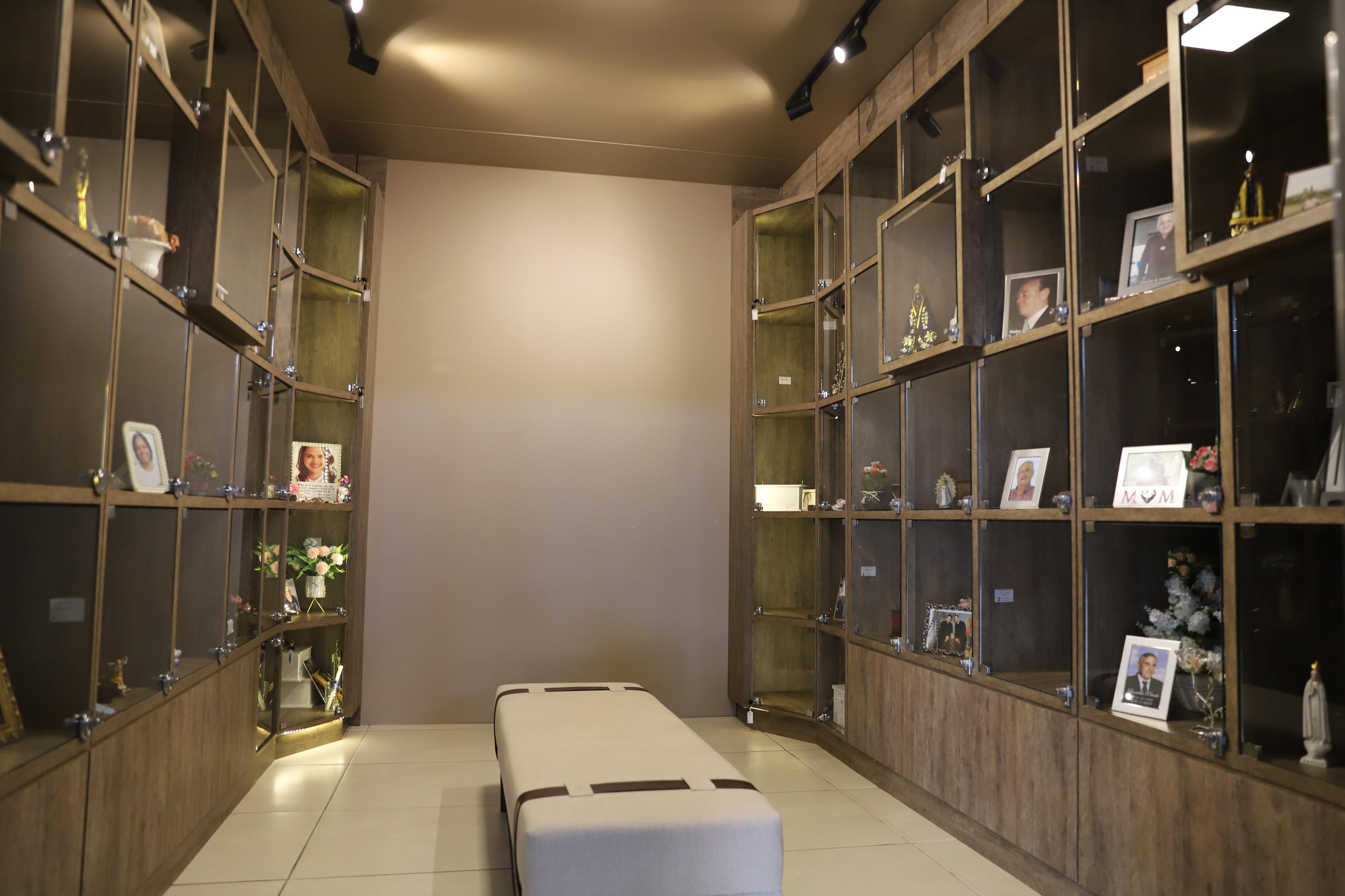 Sala de Espera no Crematório Millenium